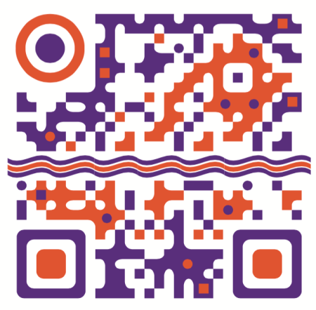 Customized QR code promoting www.Graphics.pro